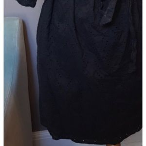 the gap Dresses - Gap black off the shoulder  dress Size Large